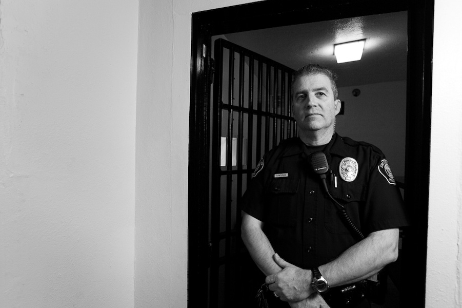 Junction City Police Officer Brian Patterson thinks because the new prison is a state-run facility, it won't directly affect his job much, but it could definitely bring careers and more people into the community. Publicly funded institutions like police departments have had to cut funding in the same ways schools, government agencies and city maintenance departments have in the past few years of this recession.