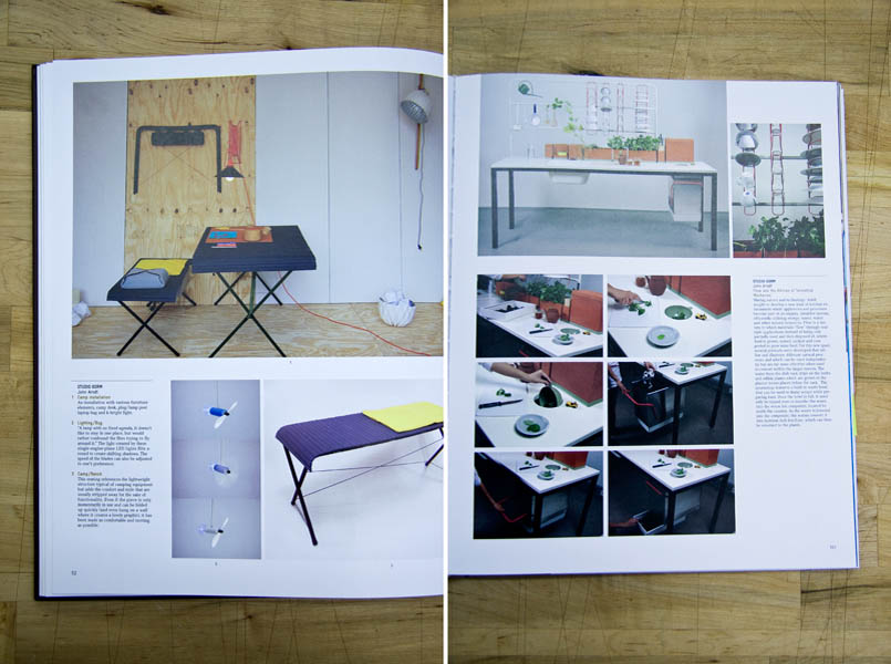 Two of Studio Gorm's major projects were featured in the book 'Desire; The Shape of Things to Come'. For now, most of their design projects reside on the conceptual side of design.