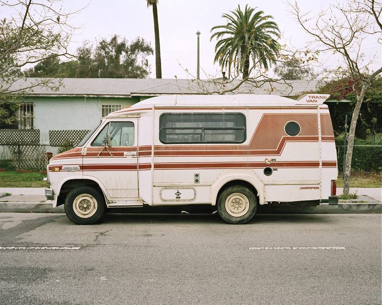 Trans Van by Champion Venice Boulevard, Venice, CA Winter 2002