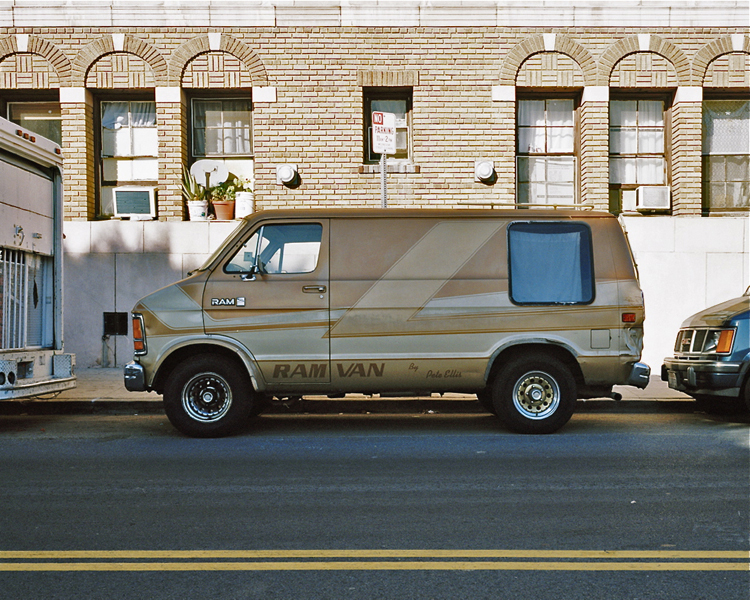 Ram Van by Pete Ellis Near MacArthur Park, Los Angeles Summer 2007