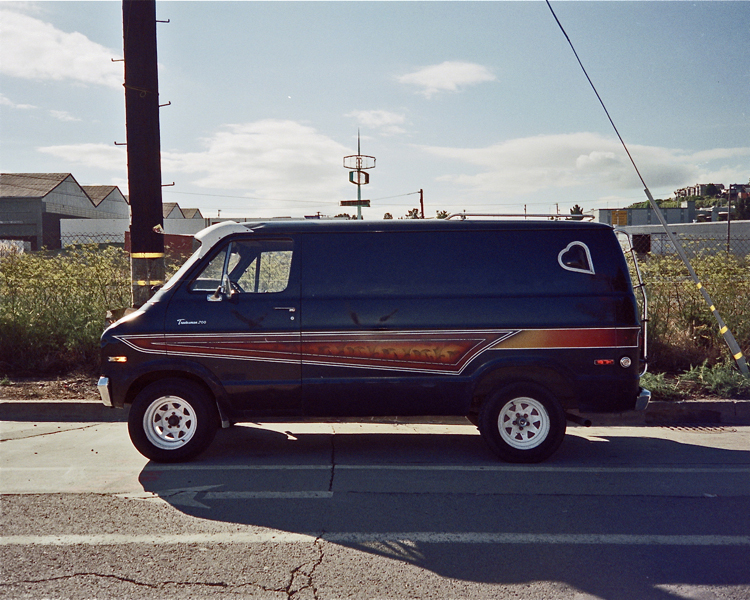 Black Tradesman with Orange Stripe Potrero Hill, San Francisco Fall, 1997