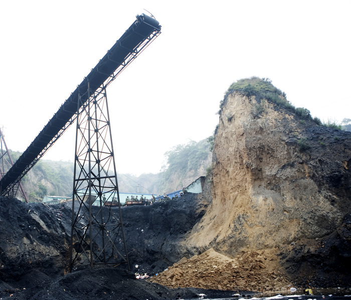 Coal mine accident in Shanxi Province.