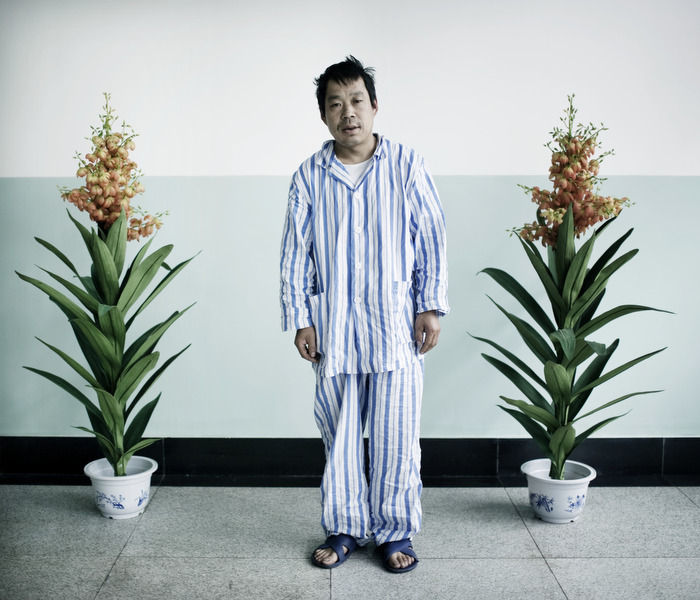 A mine accident survivor in the hospital. China produced 35 percent of the worldÕs coal in 2008, but reported 80 percent of the total deaths in coal mine accidents.